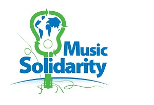 Le logo de l'association Music Solidarity